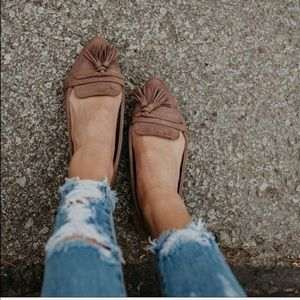 Sale Casual flats faux suede tassel women's shoes